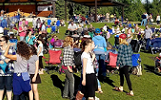 Summertime in Soldotna: Come to Soldotna Creek Park all summer long for the Wednesday Market, live music, eats and drinks.