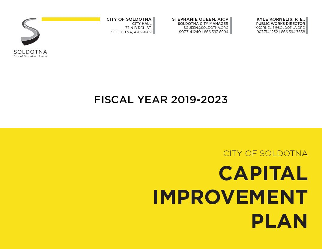 Capital Improvement Plan Thumbnail