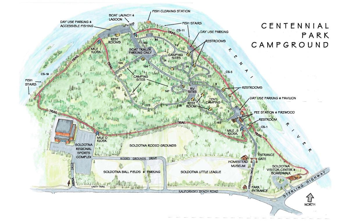 1200 dpi 2017 Centennial Campground rendering
